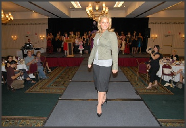 Angel Fund Fashion Show Model